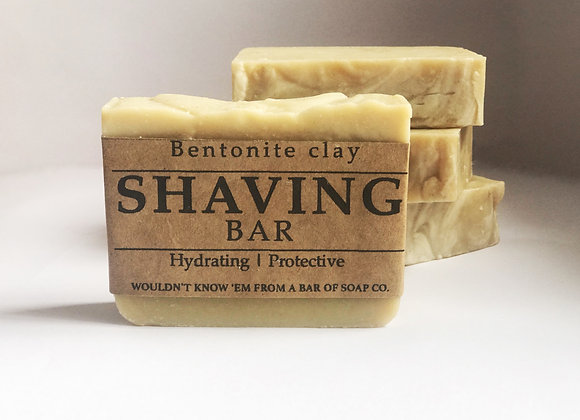 SHAVING BAR - with Bentonite clay