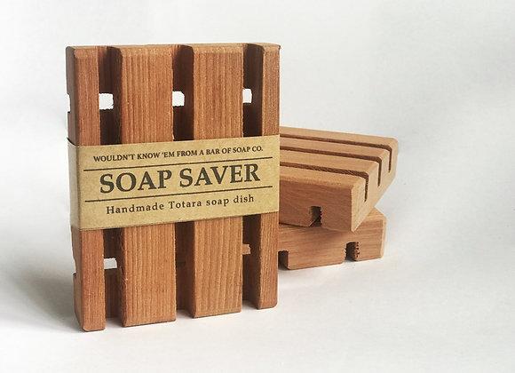 Handmade Totara Soap Saver