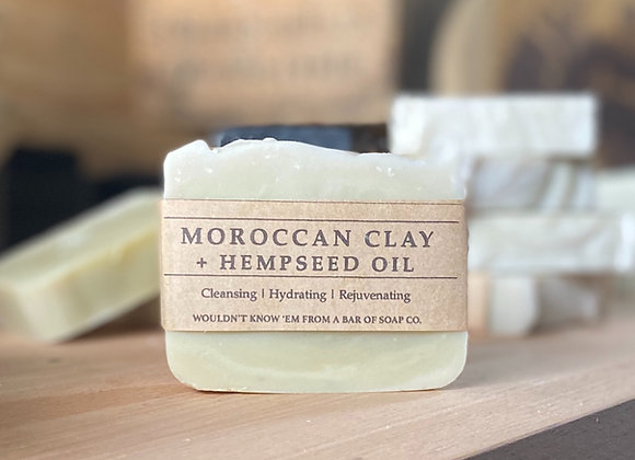 Moroccan Clay + Hempseed oil