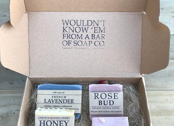 Soap maker's selection