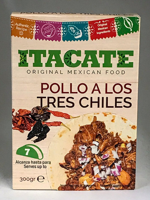 Pollo a los tres chiles Itacate
