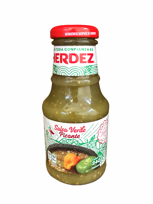 Salsa verde picante Herdez 453 gr