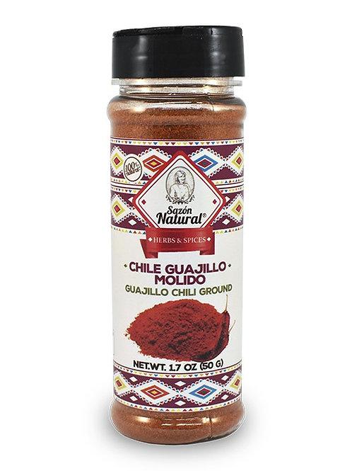 Chile Guajillo molido 50 g
