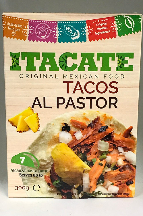 Tacos al pastor Itacate