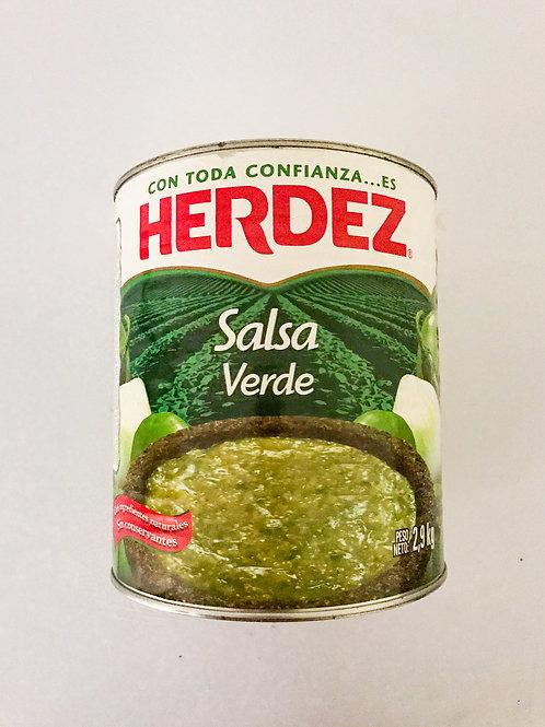 Salsa Verde Herdez 2,9kg