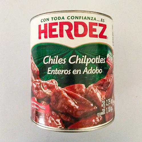 Chiles Chipotles en adobo 2,75 kg