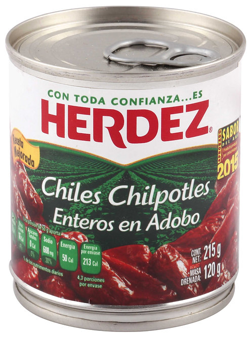 Chiles Chipotles en adobo 215 g