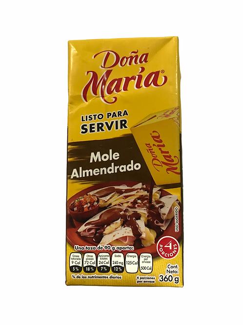 Mole almendrado Doña María 360 g