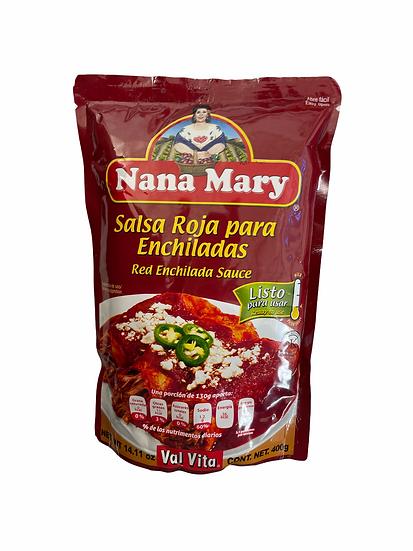 Salsa Rossa per Enchiladas Nana Mary