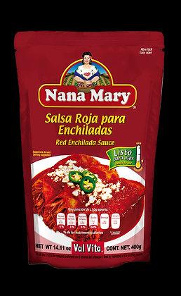 Salsa Roja para Enchiladas