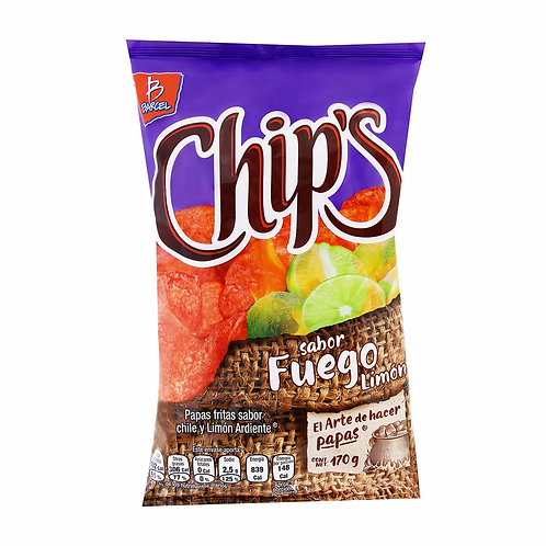 Chips fuego 170 g