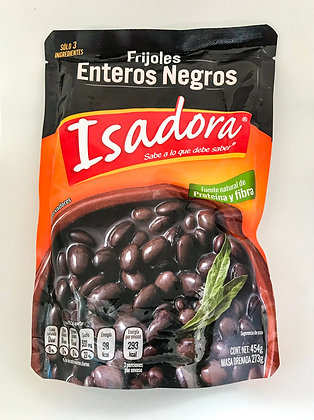 Frijoles enteros negros