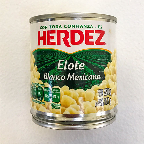 Elote Blanco Mexicano