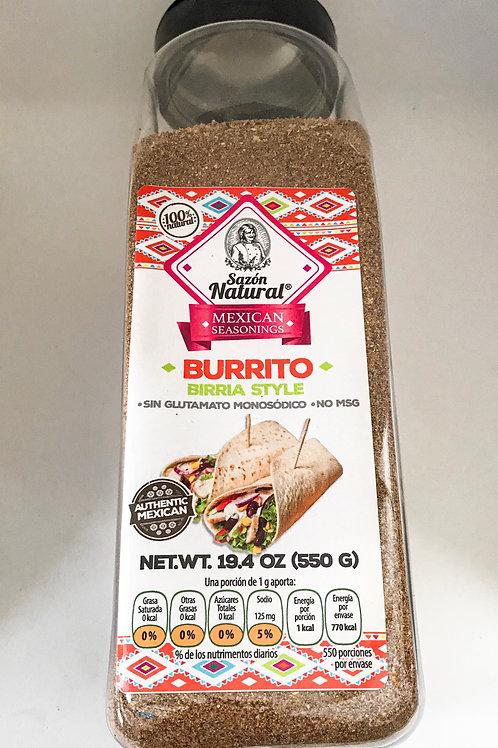Sazonador Burritos Birria