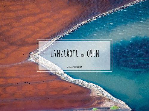 Lanzerote von Oben / 70x50cm