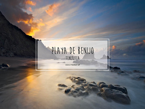 Playa de Benijo / 70x50cm
