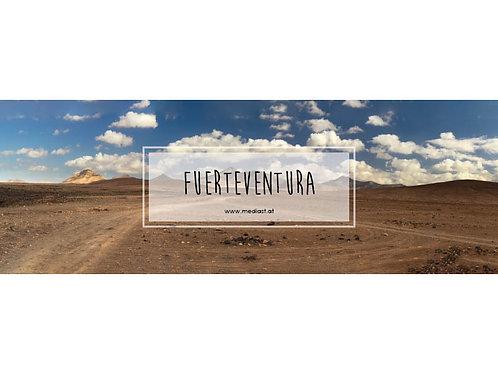 Panorama / Fuerteventura / 140x40cm