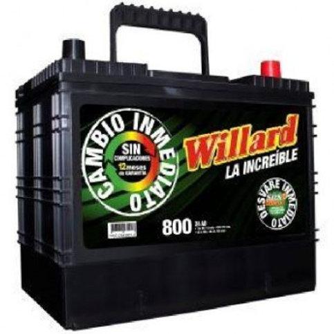 Bateria Willard 34D-850
