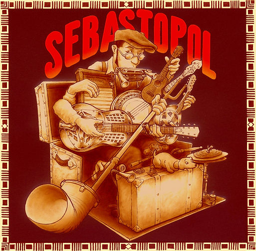 Sebastopol one man band homme-orchestre incroyable blues