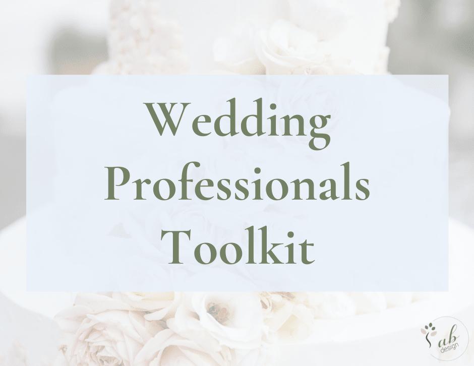 Wedding Professionals Toolkit