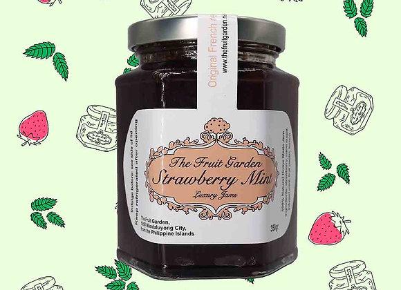 Strawberry Mint Jam 350gr