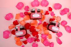Valentine 2021 3 bottles on rose bed.jpg