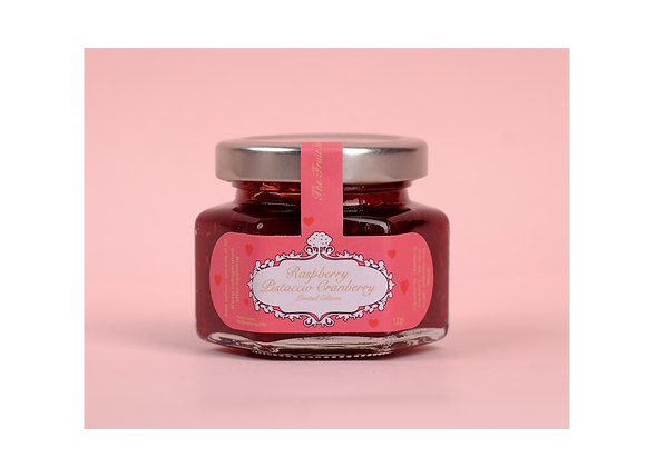 Raspberry Pistaccio Cranberry 120g