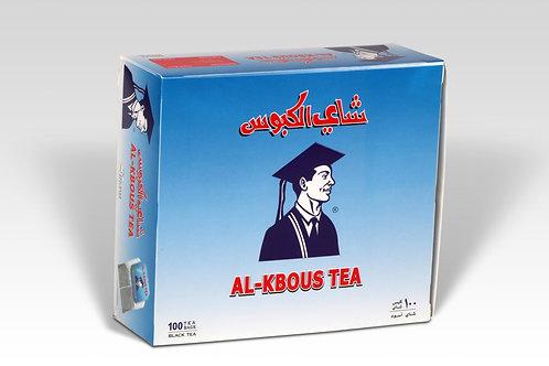 Al Kbous 100 Tea Bags شاي الكبوس