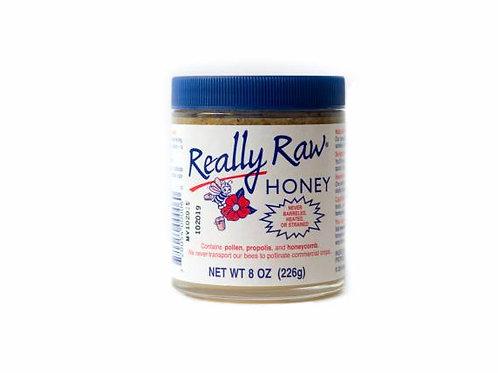 Really Raw Honey 8oz Jar