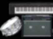 電子ピアノ・ドラムセット・レンタル