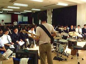 高校訪問無料楽器セミナー