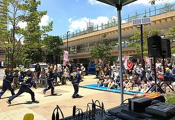 駅前野外イベント 音響 レンタル