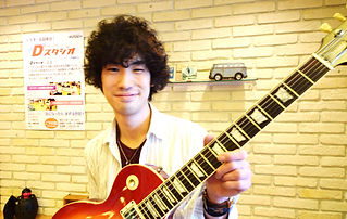 ギター講師 今野雄介