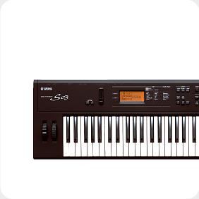 電子ピアノ シンセサイザー キーボードのレンタル