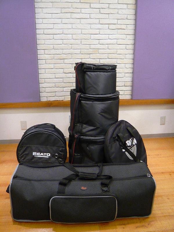 ドラムレンタル,荷量,ケース入,クラブキット