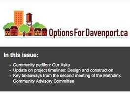 NEWSLETTER: September Update: Construction Timelines, Community Asks and More