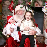 Celebration Florida Santa Photos