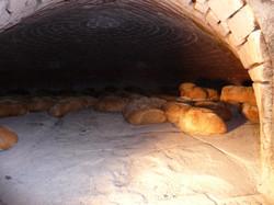 Pane nell'antico forno