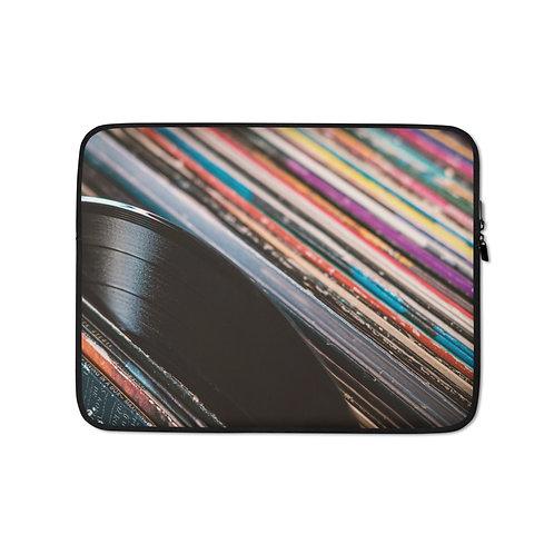 Laptop Sleeve: Vinyl Records
