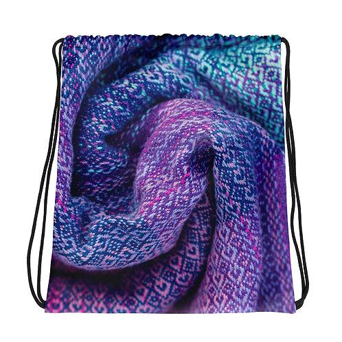 Drawstring Bag: Purple Sling