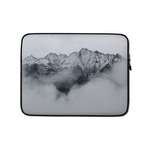 Laptop Sleeve: Frosty Mountain