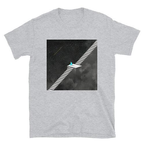 Unisex Soft T-Shirt: Night Ladder