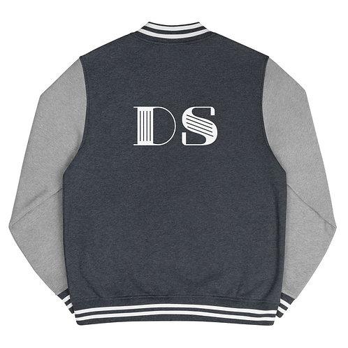 Letterman Jacket: DS White Logo