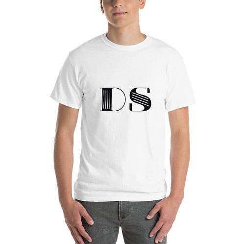 Mens Classic T-Shirt: Black DS Logo