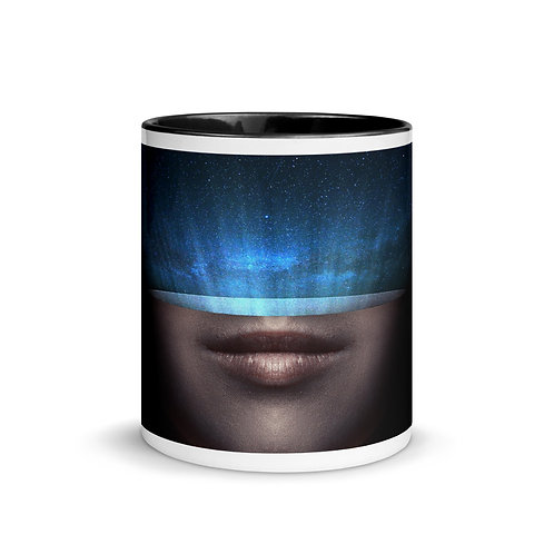 Mug with Color Inside: Universe Inside
