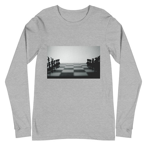 Unisex Long Sleeve Tee: Chessboard