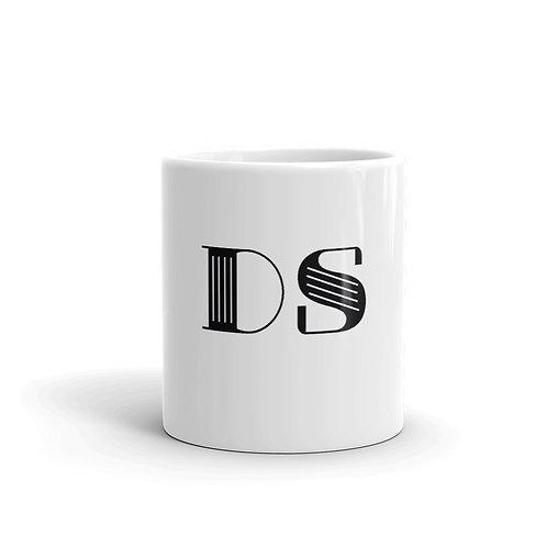 Classic Mug: Black DS Logo