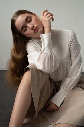 Photogrphie:  Caroline Miller  Mua:  Tanja Pashkovskaya  Label: Sly0010  Hair :  Mica Frisch