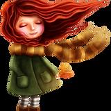 Menina do outono