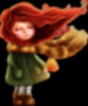 Meisje van de herfst